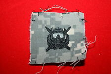 US ARMY PAINTBALL SPECIAL FORCES DIVER BASIC INSIGNIA CLOTH GENUINE ACU CAMO