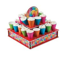 24 CONES CANDY CART/BUFFET SWEET POPCORN DISPLAY