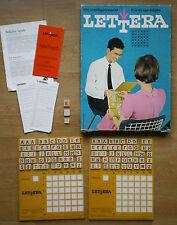Ravensburger Lettera – ein Intelligenzspiel für kluge Köpfe – 60er / 70er Jahre