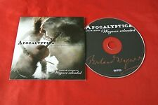 Apocalyptica Wagner Reloaded Live in Leipzig Import EU 2013 Promo Advance CD