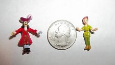 Polly Pocket Mini/Tiny Collection-Disney-2 Figures-Peter Pan and Captain Hook