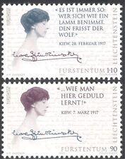 Liechtenstein 1996 Europa/Famous Women/Countess Kinsky/Royalty 2v set (n43029)