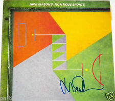 PINK FLOYD NICK MASON HAND SIGNED AUTOGRAPHED FICTITIOUS ALBUM! WITH PROOF +COA!