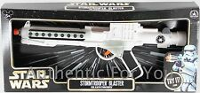 NEW Disney Parks Star Wars White STORMTROOPER BLASTER RIFLE Toy Gun - Costume
