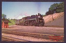 LMH Postcard 1958 CANADIAN NATIONAL  4-8-2 Mountain CNR CN #6076  Bayview Canada