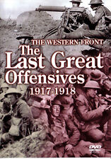DVD:THE WESTERN FRONT - LAST GREAT OFFENSIVES 1917-1918 - NEW Region 2 UK