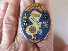 YANKEE DOODLE DANDY Homecoming New Jersey Oval Tac Pin 2007-2008
