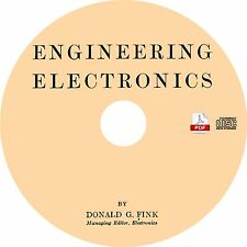 Engineering Electronics {1938} by Donald Fink ~ Book on CD
