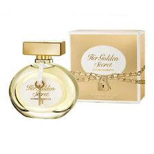 Her Golden Secret by Antonio Banderas 2.7 oz edt Women New IN BOX