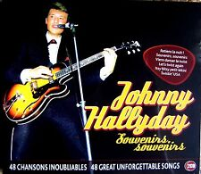 JOHNNY HALLYDAY ~ SOUVENIRS NEW + SEALED 2 CD ** BEST OF EARLY HITS AND MORE **