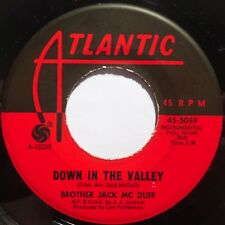 BROTHER JACK MCDUFF: DOWN IN THE VALLEY / CHANGE GONNA COME funk JAZZ 45 hear