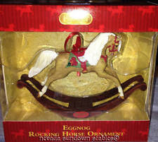 Breyer Animals Holiday Creations Eggnog Rocking Horse Christmas Ornament