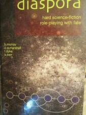 Diaspora-Hard Science-Fiction Role Playing With Fate Game Book-Hardcover-Murray/