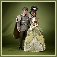 Disney Store Tiana & Naveen Princess And The Frog Limited Edition 2 Doll Set LE