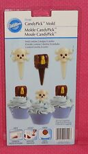 Pirate Chocolate Candy Picks Mold,Wilton,Clear Plastic,2115-2112,Cupcake Topper