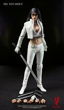 1/6 Very Cool Toys VCF-2024C Female Ultra Killer Violet in White Action Figure