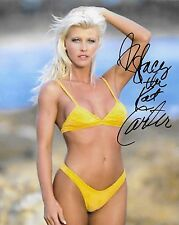 STACY CARTER THE KAT WWF WWE SIGNED AUTOGRAPH 8X10 PHOTO #2