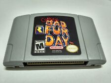 Nintendo N64 Game Conker's Bad Fur Day Video Game Cartridge Console Card USA