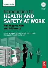 Introduction To Health And Safety At Work Hughes  Phil 9780415723084