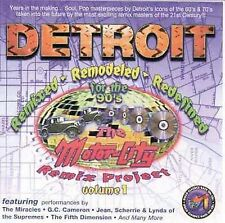 Audio CD Motor City Remix Project 1  - Various Artists VeryGood