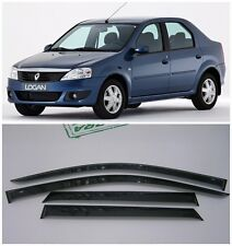 For Renault Logan Sd 2005-2014 Side Window Visors Sun Rain Guard Vent Deflectors