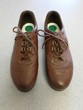 SAS Brown Leather Oxfords Women's 10 S made in USA
