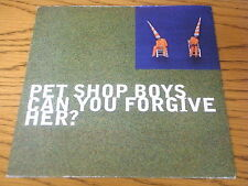"PET SHOP BOYS - CAN YOU FORGIVE HER     7"" VINYL PS"