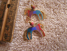 Beautiful Vintage Laurel Burch Caballo  Earrings