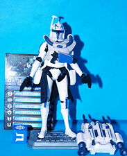 STAR WARS CLONE WARS 2011 CAPTAIN REX CW62 LOOSE COMPLETE