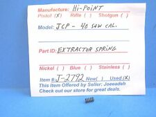 HI-POINT JCP  40 S&W CAL. (EXTRACTOR SPRING) ( J-2792 )