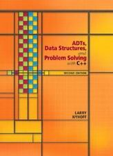 New- ADTs Data Structures and Problem Solving with C++by Larry R. Nyhoff 2ND  ed