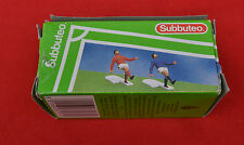 1983 SUBBUTEO 61131 CORNER KICKERS IN RED AND BLUE SHIRTS! IN GOOD BOX.