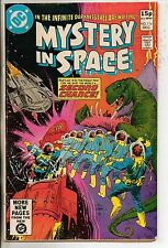 DC Comics Mystery In Space #114 December 1980 VF+