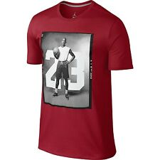 Nike Air Jordan Jumpman 88' Photo Tee T-shirt Top Red Size XL 657893-687