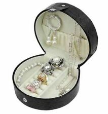 Jewelry Organizer Storage Case Travel Ring Earring Necklace w/ slight DEFECTS