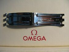 Omega Stainless Steel 1036 Bracelet Clasp Plate - Dates to 11/73 - Rare item