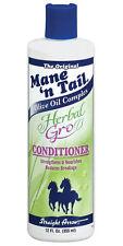 MANE 'N TAIL Herbal Gro Hair Conditioner 355ml/12oz Brand New