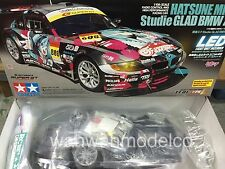 Tamiya 58442 1/10 RC Team Studie GLAD BMW Z4 - TT01E Hatsune Miku w/ESC