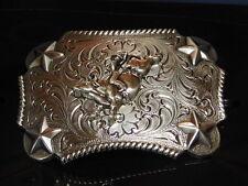 Bucking Bull Rider Belt Buckle NIB Western Cowboy Adult or Youth