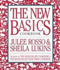 THE NEW BASICS COOKBOOK, Julee Rosso & Sheila Lukins, 849 Pg. INSTRUCTIONS