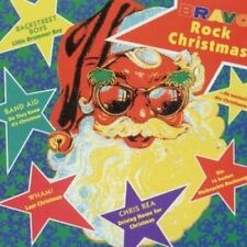 Bravo Rock Christmas (1991) Wham!, Bros, Chris Rea, Band Aid, Prince, Gar.. [CD]