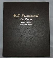60 Presidential Dollar Coins 2007 - 2011 P, D, & S Proof Set in a Dansco Album