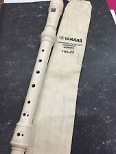 Used YAMAHA soprano recorder YRS-23