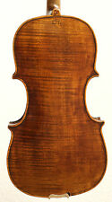 old violin 4/4 geige viola cello fiddle stamp DAVID HOPF