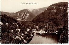 CPSM PF 25 - VILLERS LE LAC (Doubs) - 126. L'arrivée au Saut du Doubs