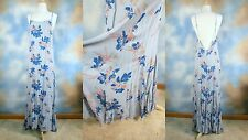 NEW INTIMATELY FREE PEOPLE romantic low back backless inset panel Maxi dress M