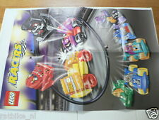 LEGO BROCHURE FLYER CATALOG TOYS 2001 LEGO RACERS DUTCH 4 PAGES 102