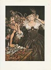 "1975 full Color Plate "" Comus "" by Arthur Rackham"