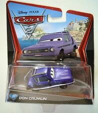 CARS 2 - DON CRUMLIN  - Mattel Disney Pixar