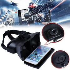 3D VR Virtual Reality Headset Video Glasses for 4-6inch Smartphone Movie Game OL